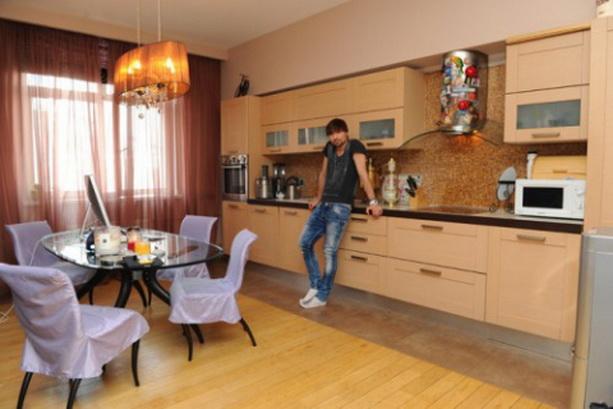 Дима Билан кухня