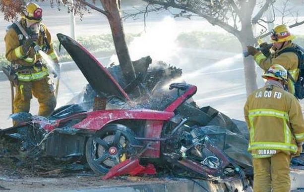 пол уокер разбился фото аварии