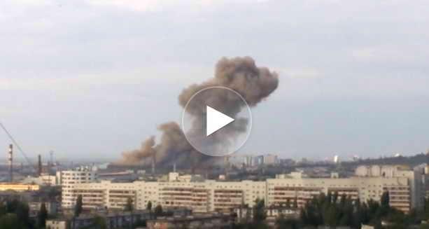 Взрыв на заводе Волгограда