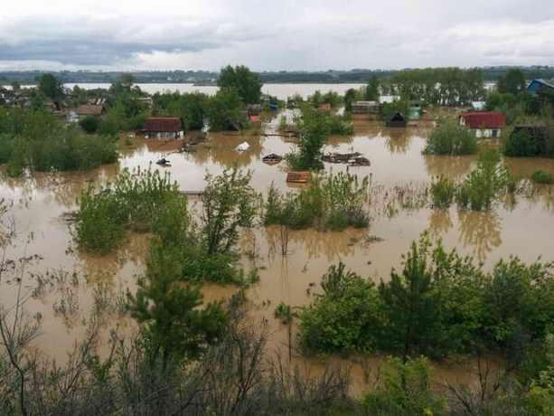 Наводнение в Бийске