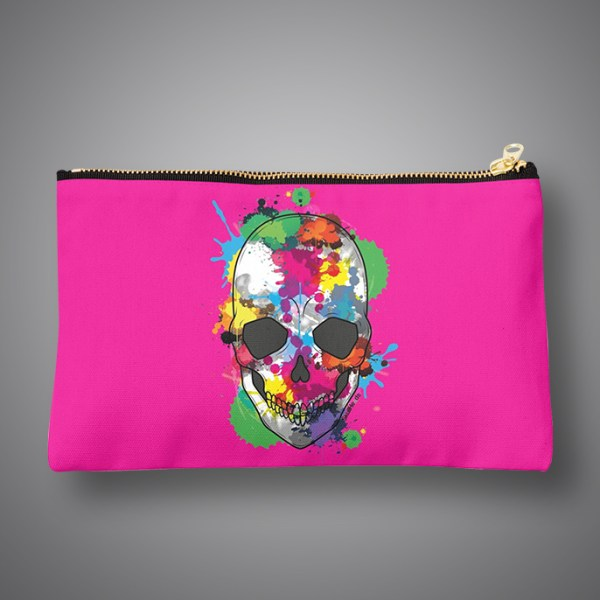 Images Produits - Pochette-ColorfulSkull