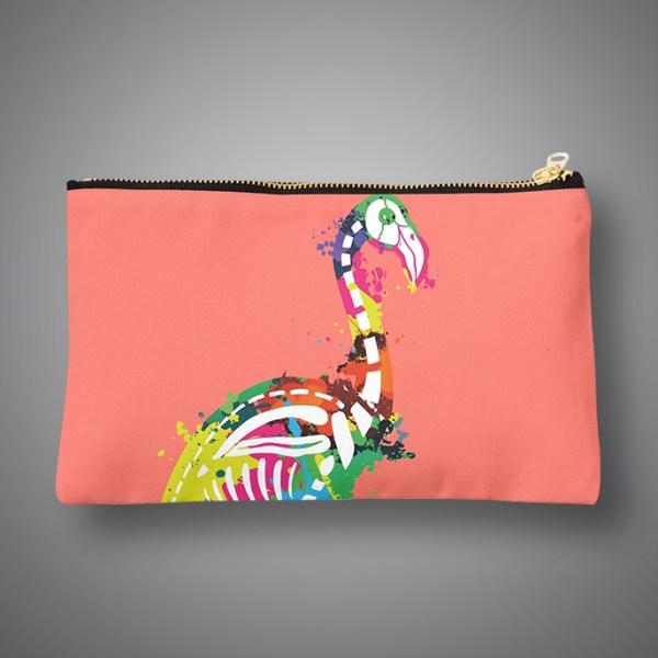 Images Produits - Pochette-FlamingoSkull