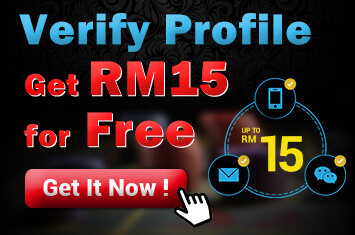 sky3888 Casino Promotion Verify and Get RM 15 For Free!