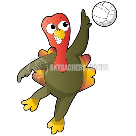Turkey Volleyball Spike - Skybacher's Locker