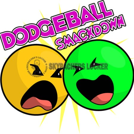 Dodgeball Smackdown Logo - Skybacher's Locker