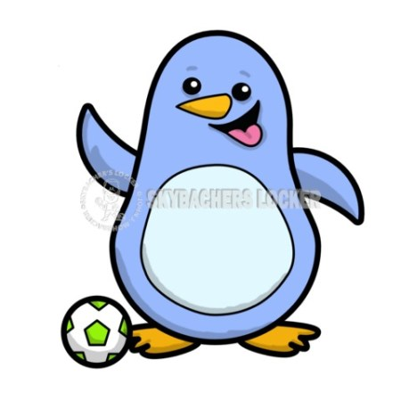 Soccer Penguin - Skybacher's Locker