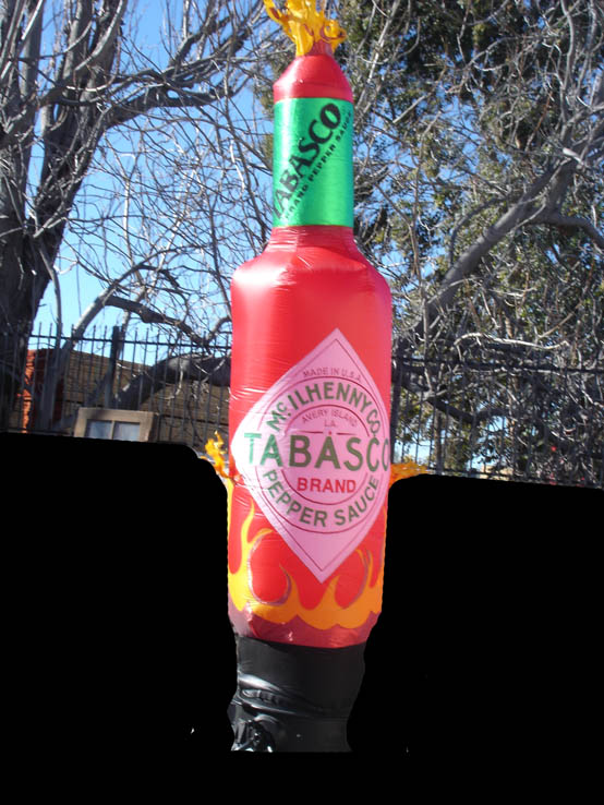 8' Tabasco Bottle