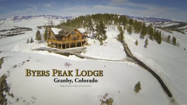 Byers Peak Lodge in Winter, Granby, Colorado