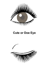 how to make your eyes doe like