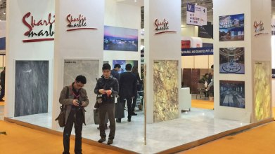 SKARLIS MARBLE at China Xiamen International Stone Fair 2014