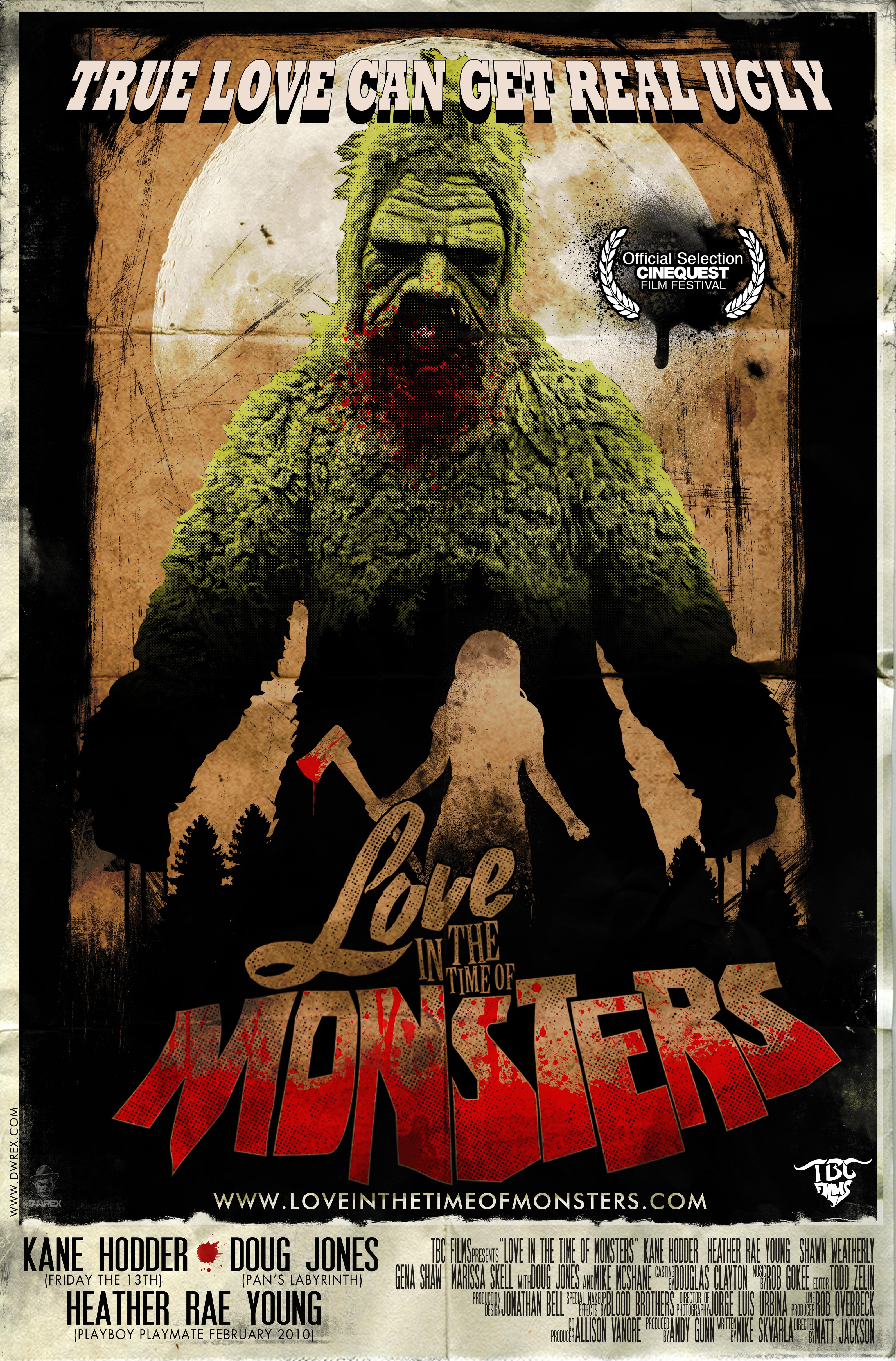 Poster do filme Love In The Time Of Monsters