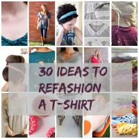30 t-shirt hacks and reconstruction ideas