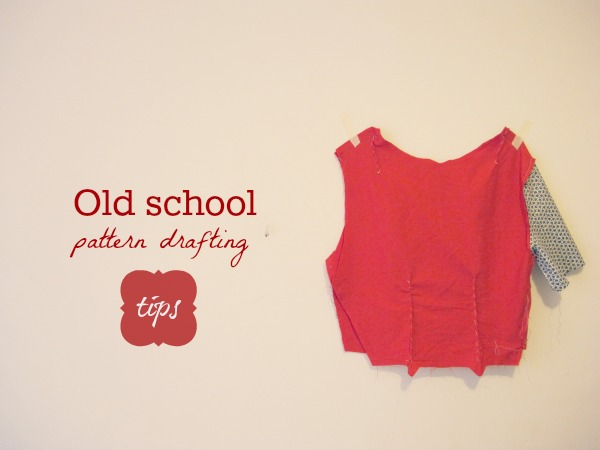 old-school-pattern-drafting-tips