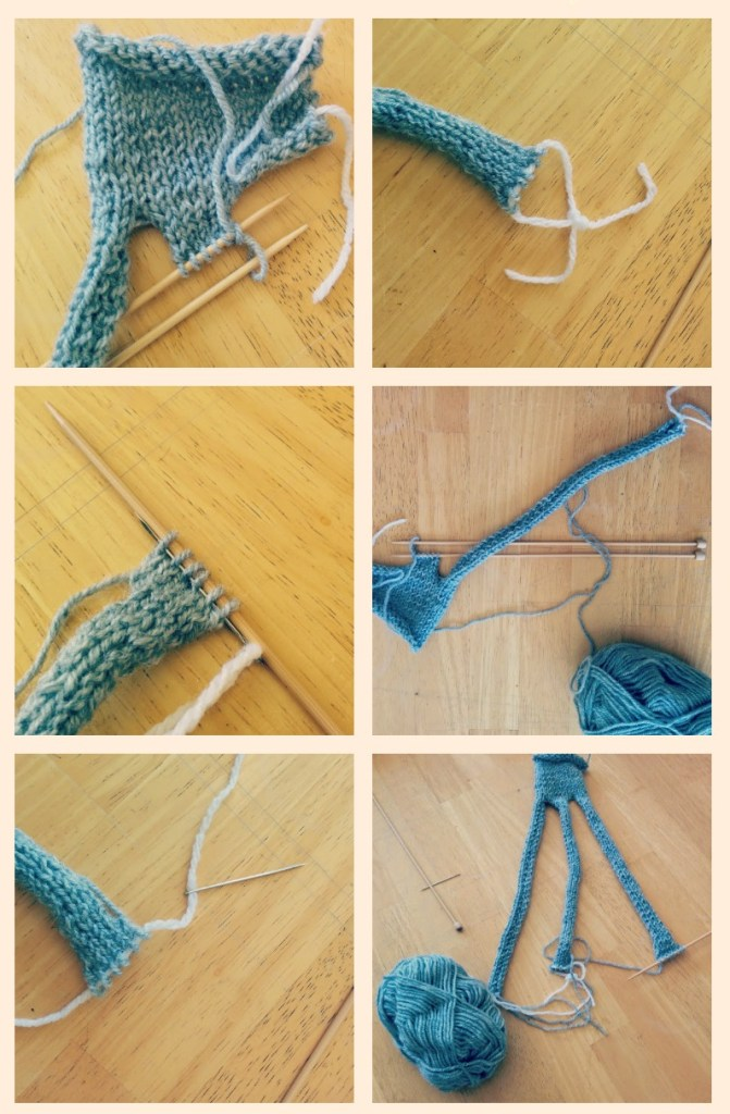 knit a braided headband!
