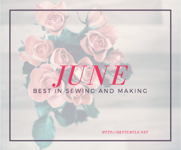 best of june in sewing and making sky turtle