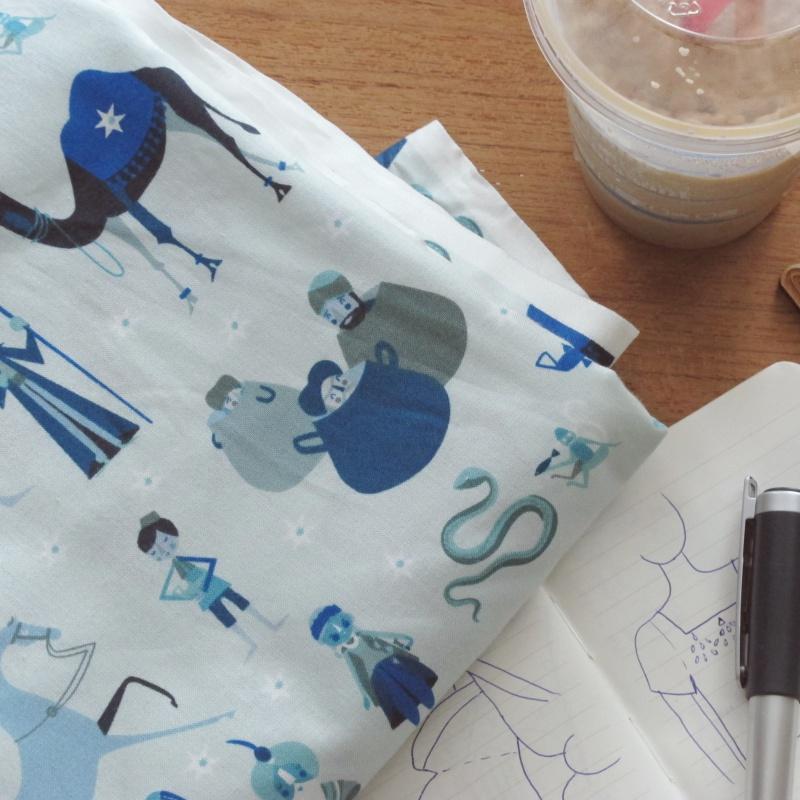 pretty alladin fabric