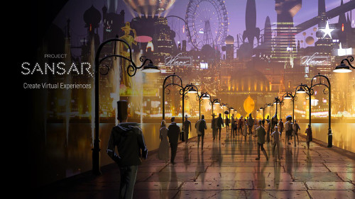Project Sansar Concept Art