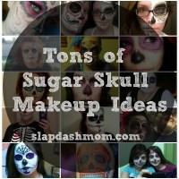 Sugar Skull Halloween Makeup Inspiration