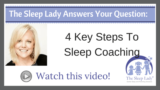 Question of the week_ 4 Key Steps To Sleep Coaching