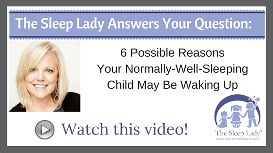 6 Possible Reasons Your Normally-Well-Sleeping Child May Be Waking Up