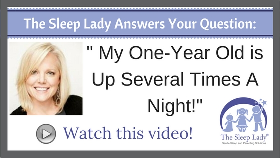 Question of the week- My One-Year Old is Up Several Times A Night