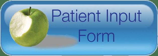Patient Input Form Button