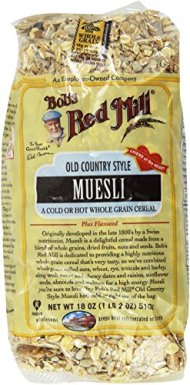 Bob's Red Mill Cereal Muesli Old Country Style — 18 oz Each / Pack of 2