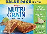 Kellogg's Nutri-Grain Cereal Bars, Apple Cinnamon, 16 Count