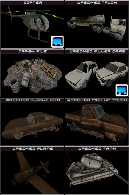 wasteland hunt prizes collage