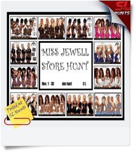 Miss jewell store hunt - Cheryne Jewell