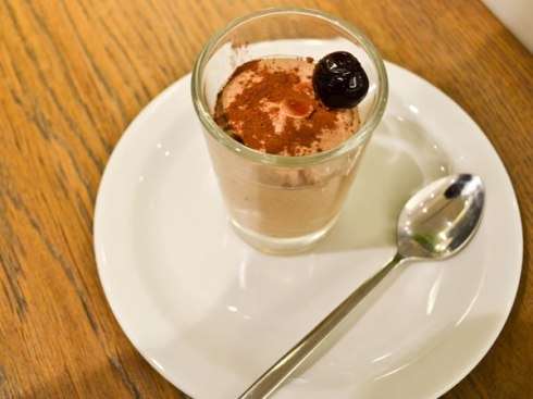 Cioccolata e espresso