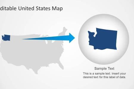 6408 01 united states map 8 slidemodel