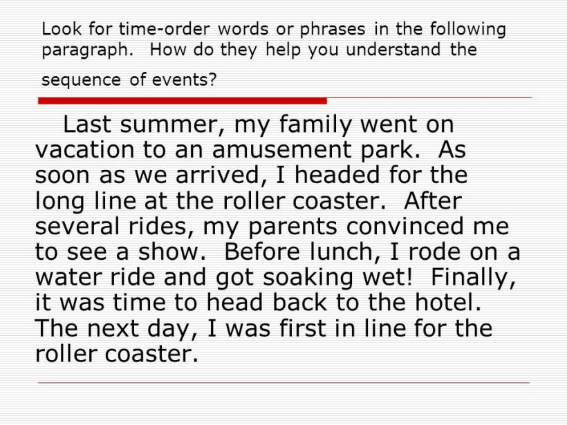 Favorite vacation essay
