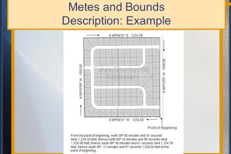 Map Metes And
