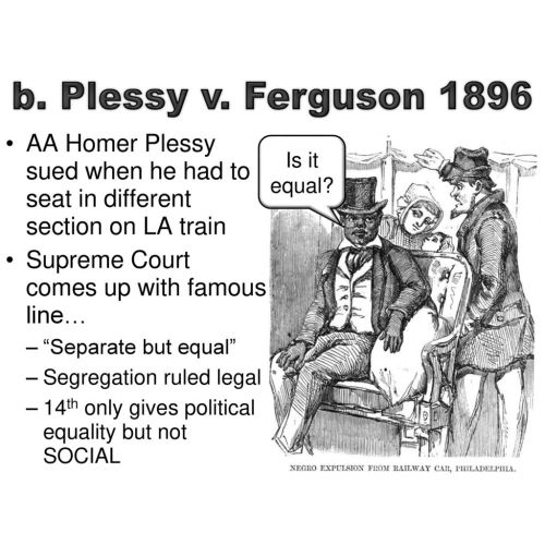 Medium Crop Of Why Was Homer Plessy Arrested