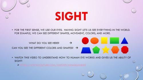 Medium Of Sense Of Sight