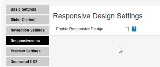 Enable Responsive Design of Testimonial Slider