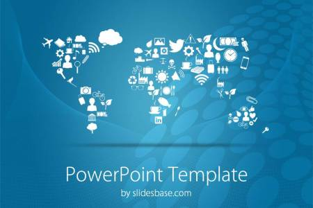 Map powerpoint templates symbolic world map creative business earth politics business powerpoint template slide1 1 toneelgroepblik Gallery