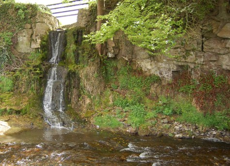 Waterfall at Cadamstown