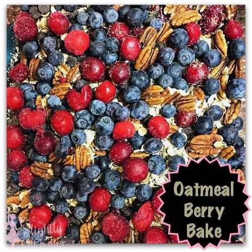 oatmeal berry bake - recipe