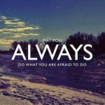 I'm afraid…
