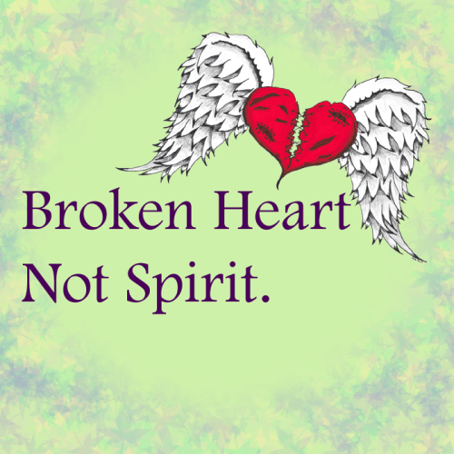 broken heart - not spirit