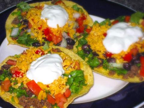 Taco Bell Tostadas