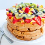 Fruit Pizza Waffles-5