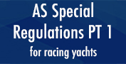 AS Special Regulations PT 1 for racing yachts