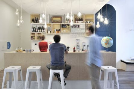 Wine bar and reception