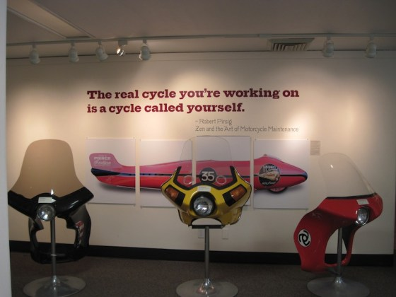 Cycle Exhibit at the San Luis Obispo Museum of Art