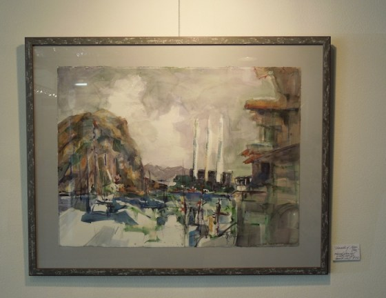 """The Character of Morro Bay"" by Jeanette Wolff at Studios on the Park"