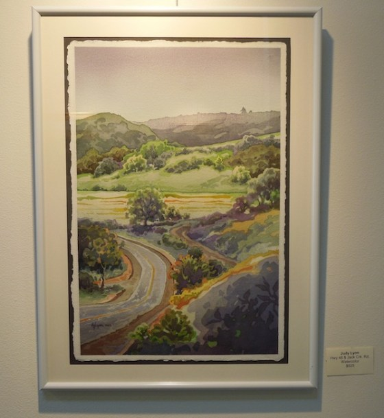 """Hwy 46 and Jack Creek Rd."" by Judy Lyon at Studios on the Park"