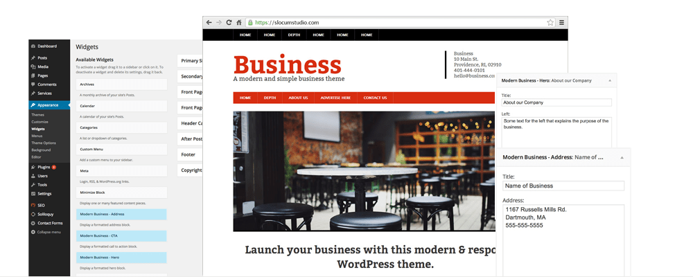 Modern Business Pro - Slocum Themes